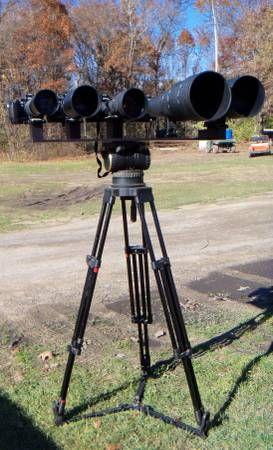 bizarre camera-installatie