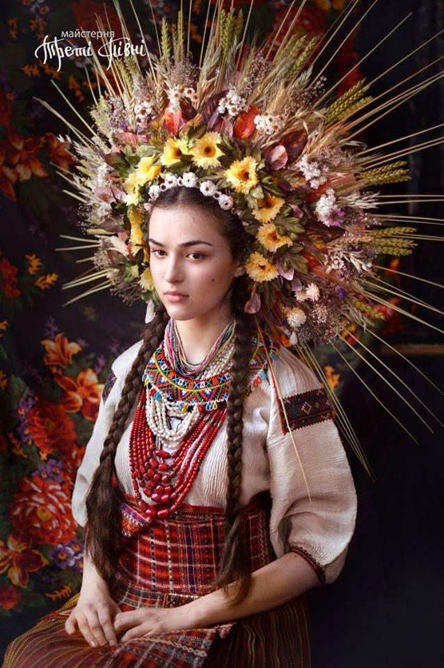 Traditionele Oekraïense hoofdtooien