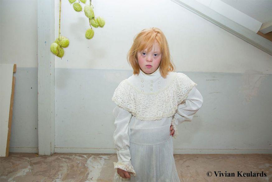 De diversiteit van roodharige kinderen