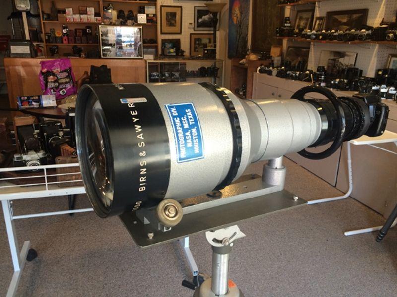 Super-teleobjectief gemaakt voor NASA te koop