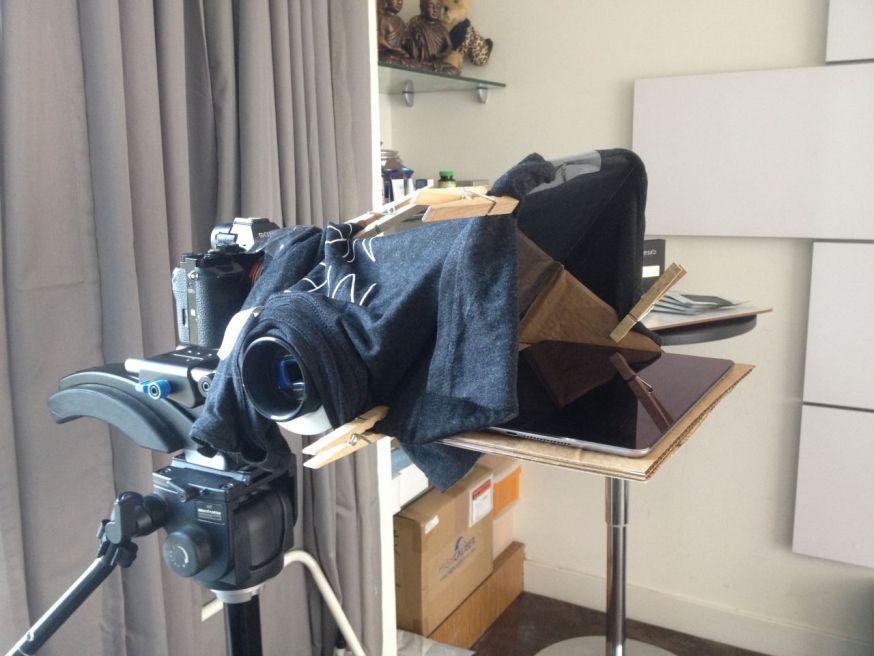 De meest vreemde DIY camera rigs