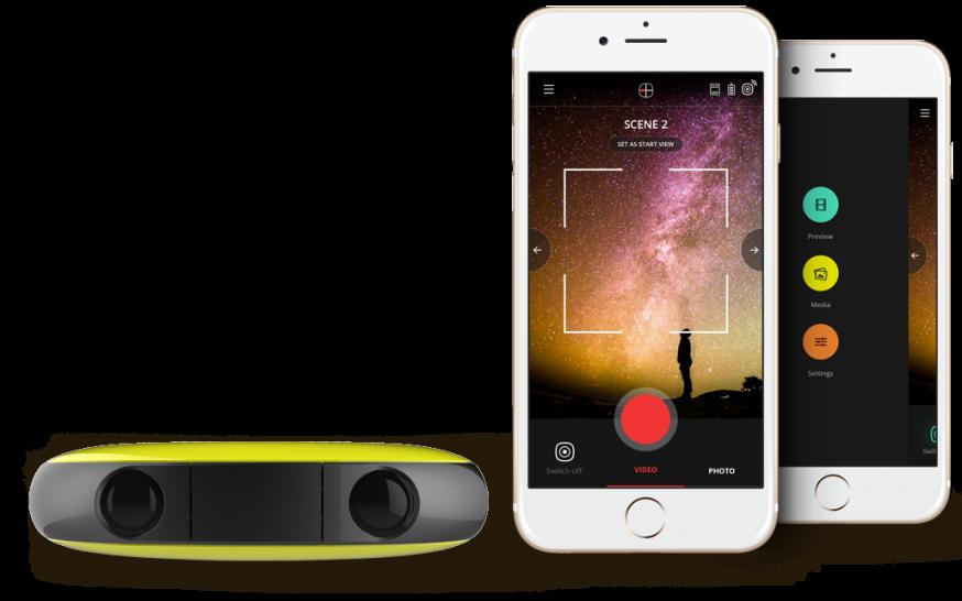 Vuze VR 360 graden 3D-camera