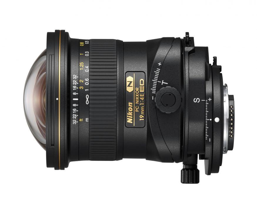 Nikon introduceert PC NIKKOR 19mm f/4E ED tilt/shift-objectief