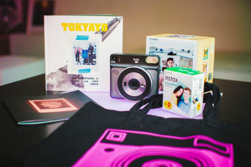 Fuijifilm nieuwe Instax SQ6 analoge camera voor offline momenten