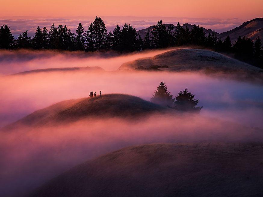 Nicholas Steinberg fotografeert prachtige mistbanken