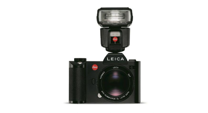 Leica SF 60 flitser met SF C1 afstandsbediening