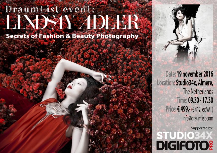 DraumList Event: Lindsay Adler Fashion Photography Workshop