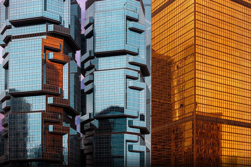 Moderne Aziatische architectuur van Peter Stewart