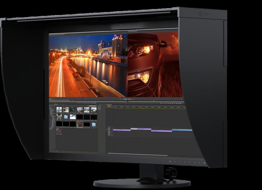 ColorEdge CG319X, de tweede generatie High-End 4K grafische monitor van EIZO