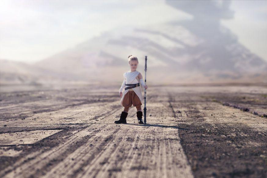 Kinderen als sprookjesfiguren en filmkarakters