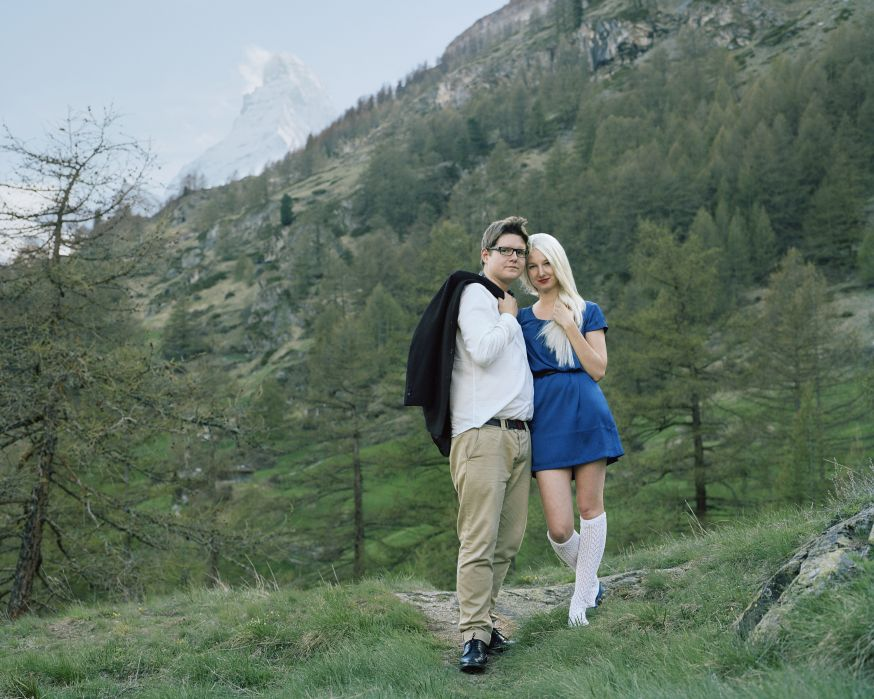 Demande en mariage Mariage proposal from the series Ekaterina 2012 C Romain Mader ECAL.jpg