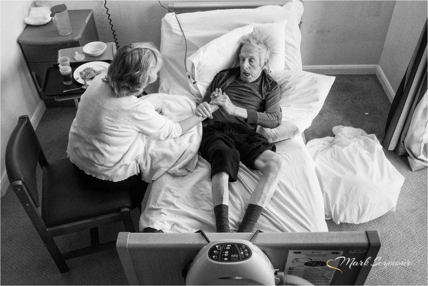 Mark Seymour fotografeert vader met Alzheimer