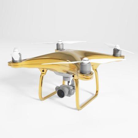 Gouden drone DJI Phantom 4