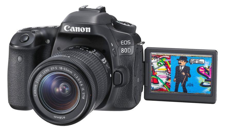 Canon 7D Mark II vs. Canon 80D