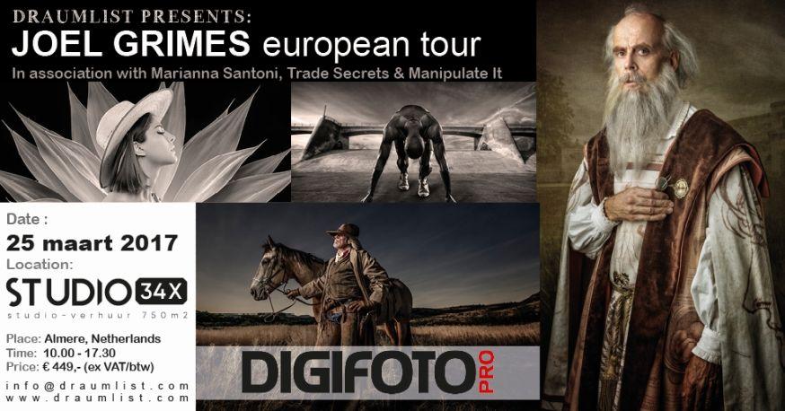 DraumList Presents: Joel Grimes Fotografie Workshop