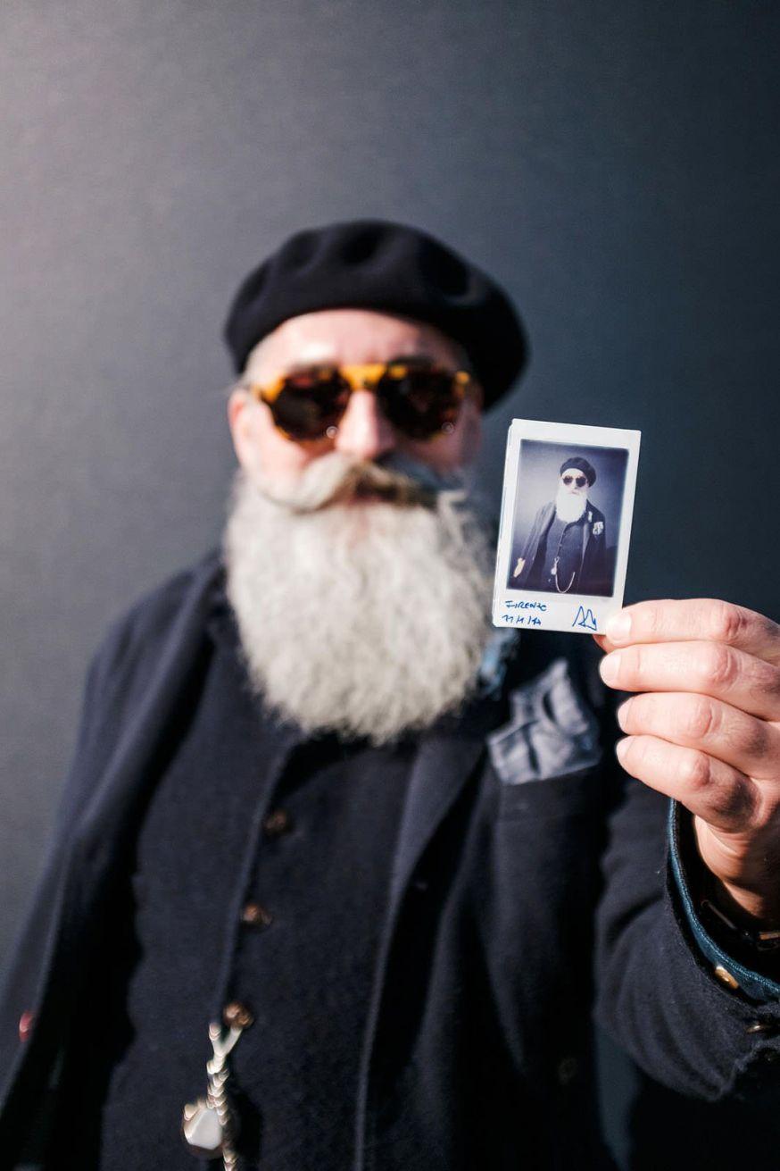 Instax portretten op Pitty Immagine Uomo