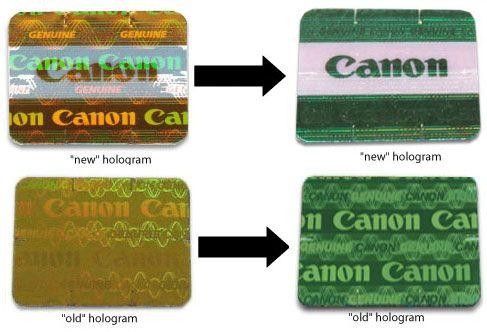 Canon hologram