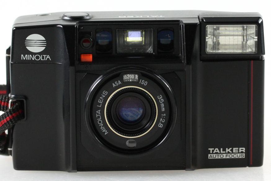 Een pratende camera uit de jaren 80