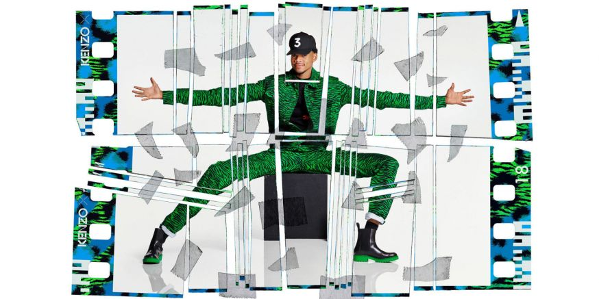 KENZO H&M Jean-Paul Goude Chance The Rapper