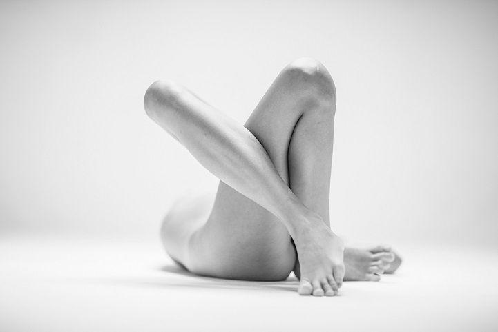 Lichamen op een bizarre manier gefotografeerd