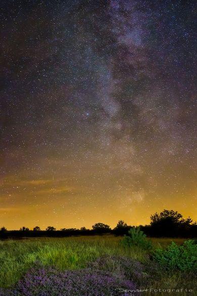 Melkweg ondanks lichtvervuiling