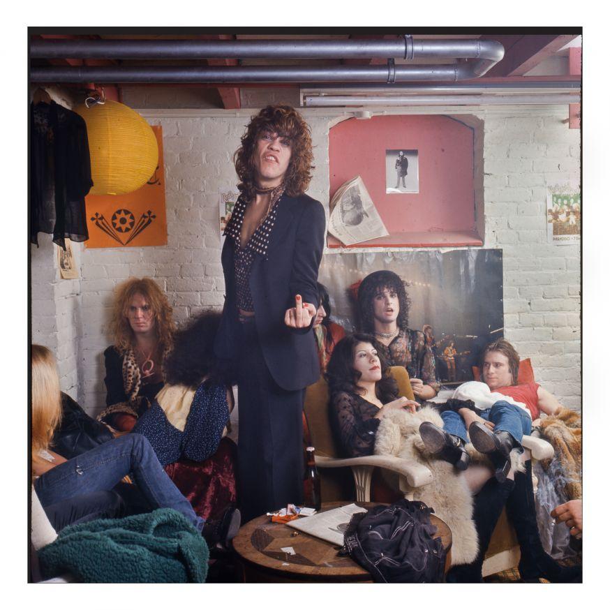 New York Dolls in Paradiso, (c) Gijsbert Hanekroot 1973