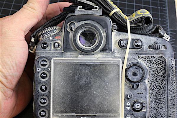 Nikon D810 na Burning Man