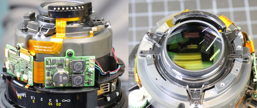 Mustsee: Nikon 105mm f/1.4 compleet uit elkaar gehaald