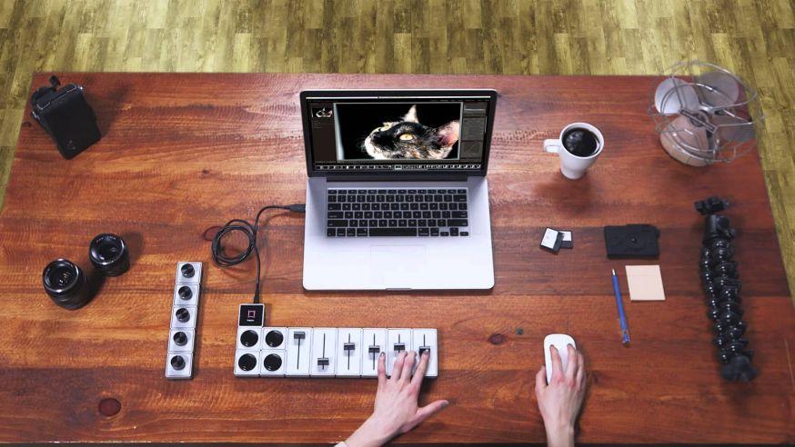 Controllers voor foto-editing software
