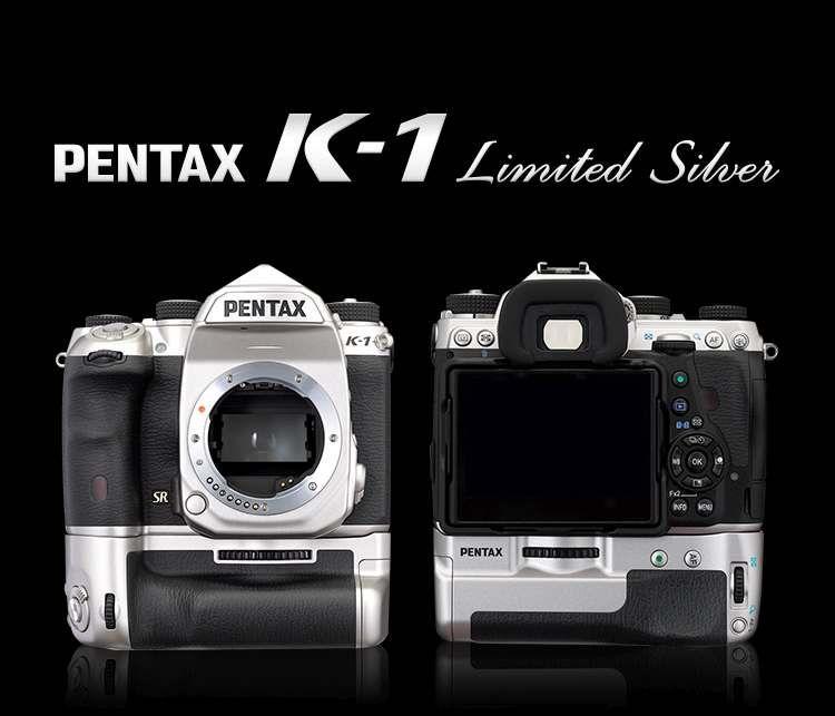 Pentax K-1 Zilver
