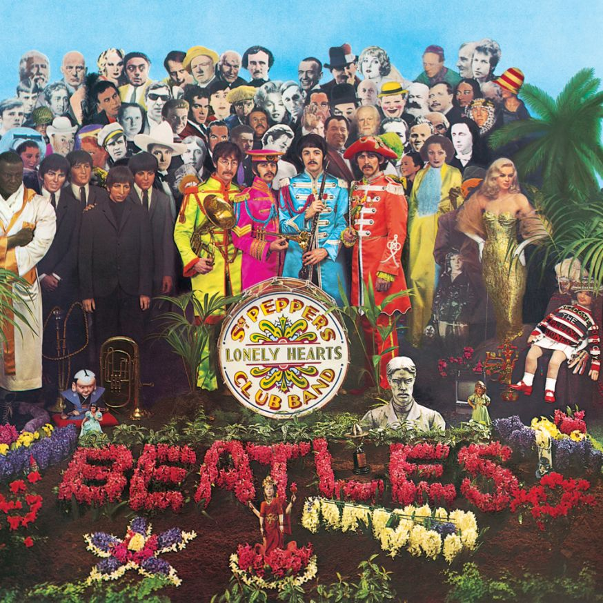 Cover  Sgt Pepper's  Lonely Hearts Club Band bestaat 50 jaar