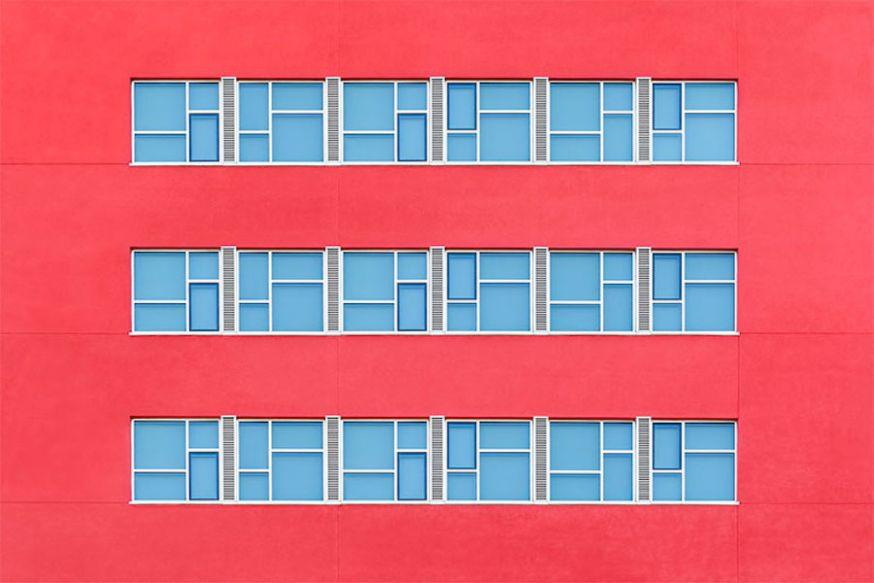 De ongewone architectuurfotografie van Zoe Wetherall