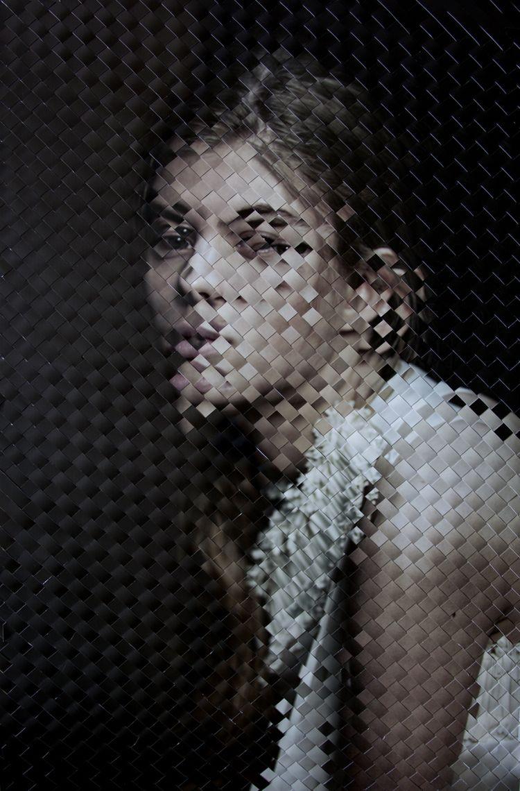 Geweven foto's van Inge Jacobsen