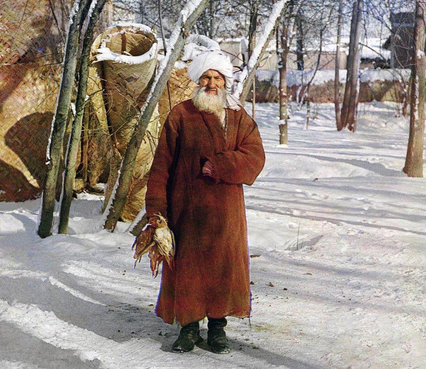 Kleurenfoto's van Rusland in het begin van de 20ste eeuw