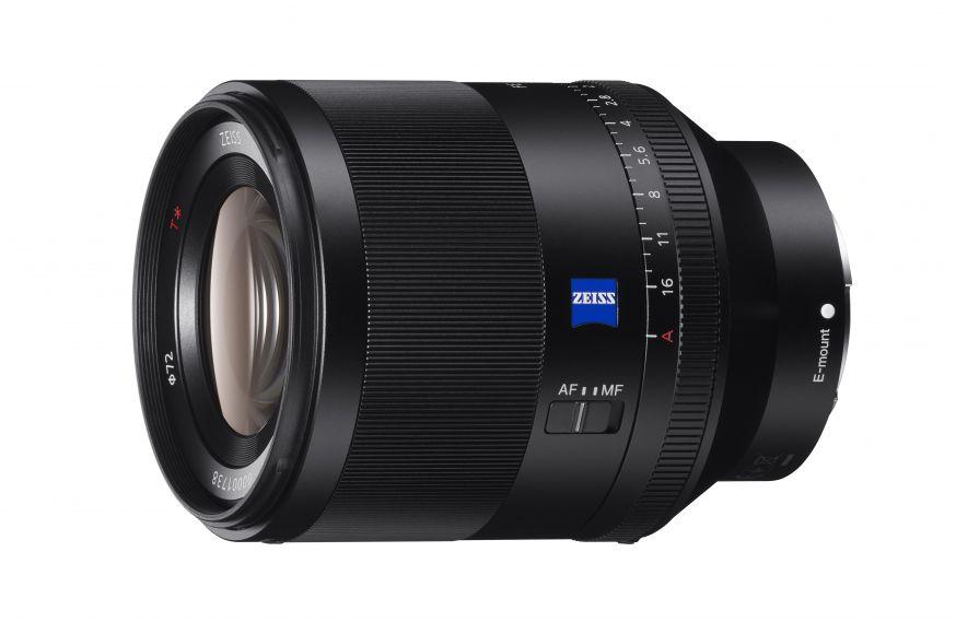 Sony lanceert full-frame FE 50mm F1.4 ZA prime-objectief
