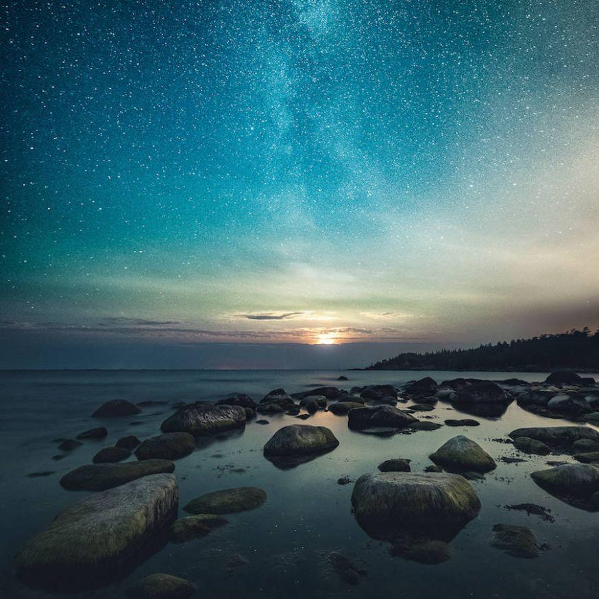 Bijzonder mooie sterrenhemels