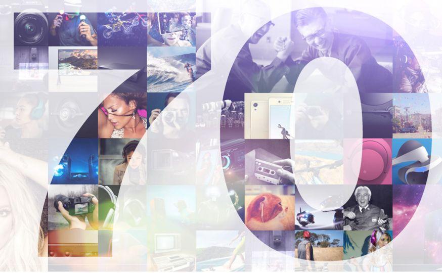 Sony70jaar