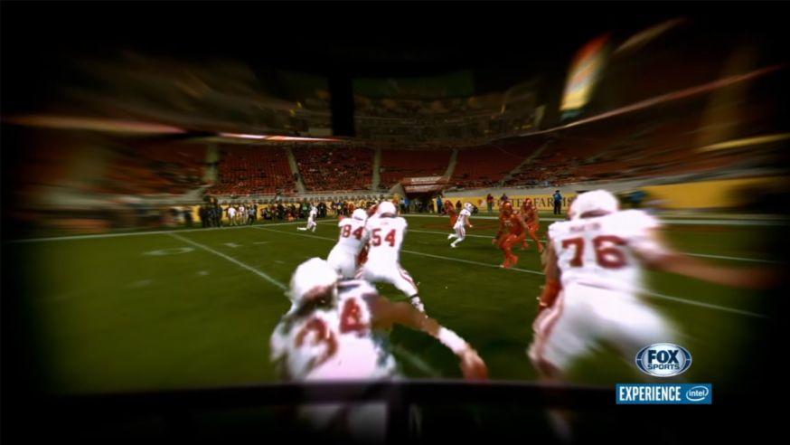 Super Bowl toont blik door ogen van spelers
