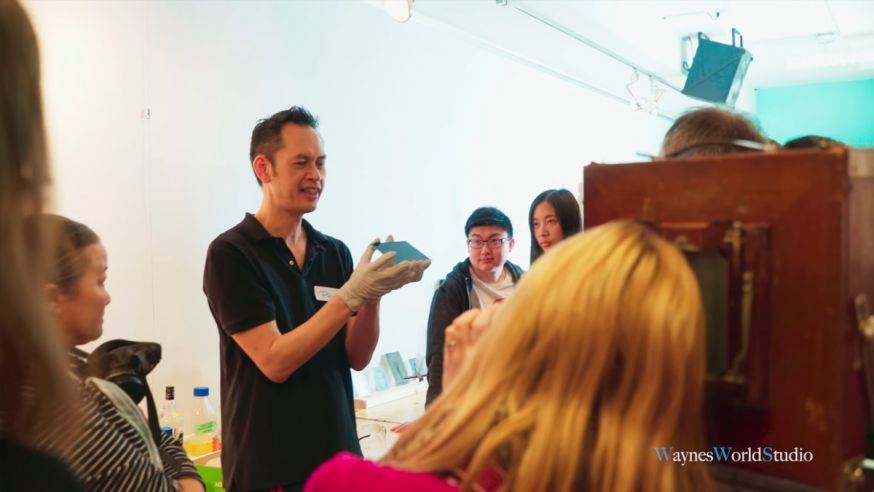 Phillip Chin Vancouver toont Wet Plate fotografie