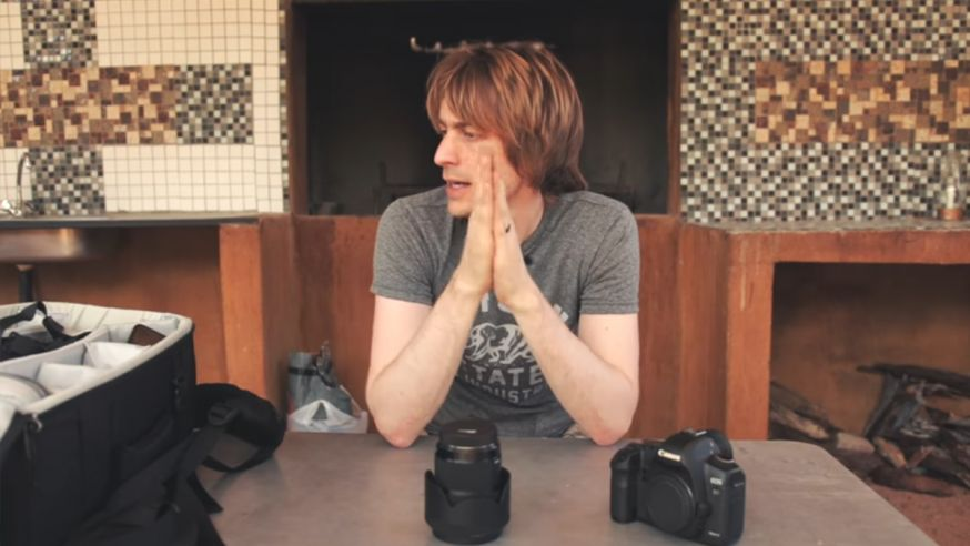 Sean Tucker fotografeert mensen in Namibië