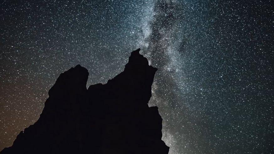 Prachtige time lapse van Tenerife