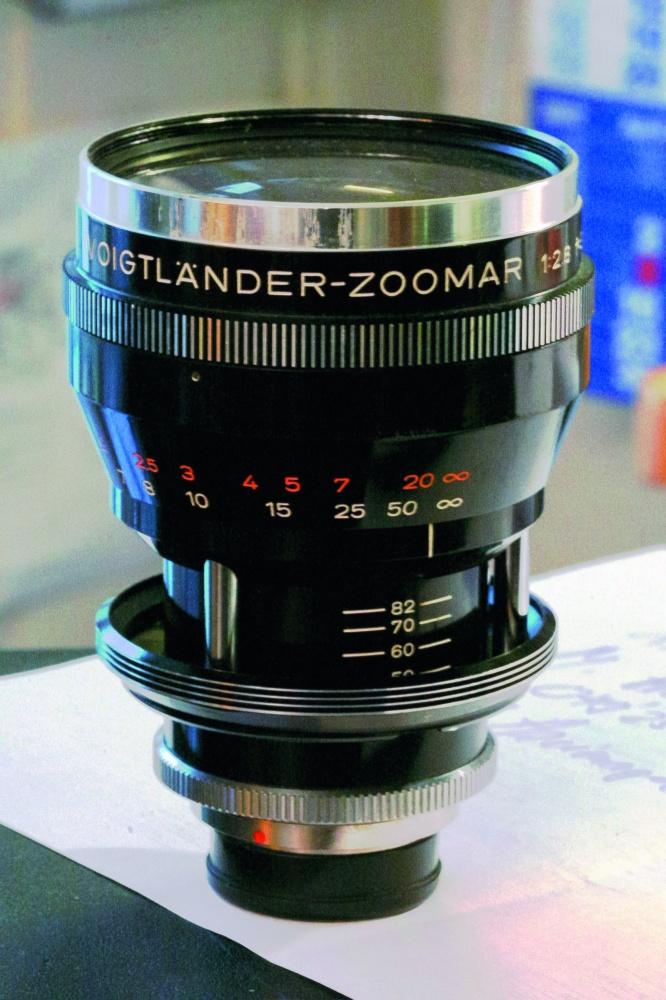 Voigtländer-Zoomar 36-82mm f/2.8: 's werelds eerste zoomobjectief