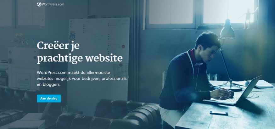 WordPress fotografiewebsite