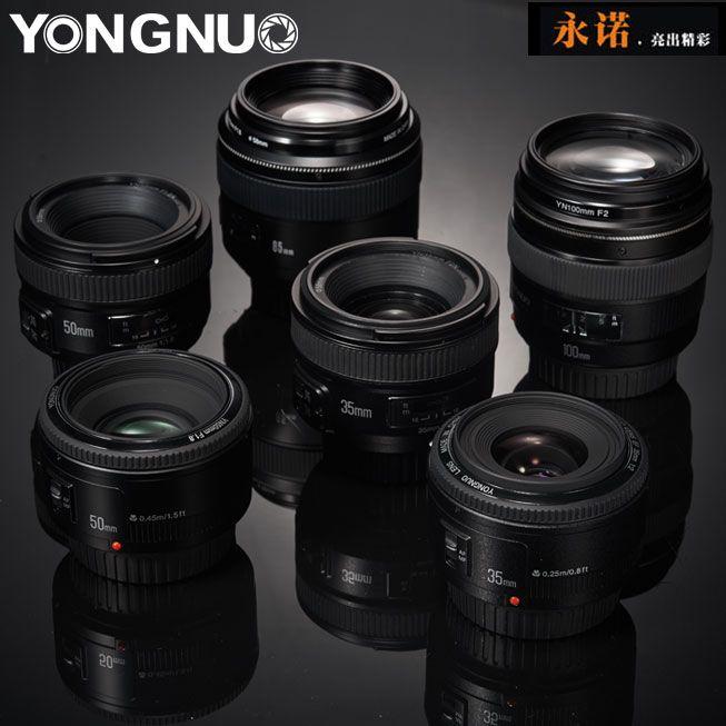 Yongnuo 85mm Canon namaak