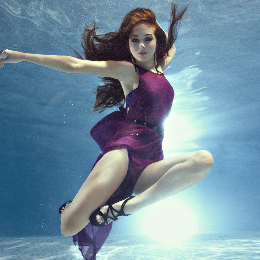 Onderwater fotografie van Zena Holloway