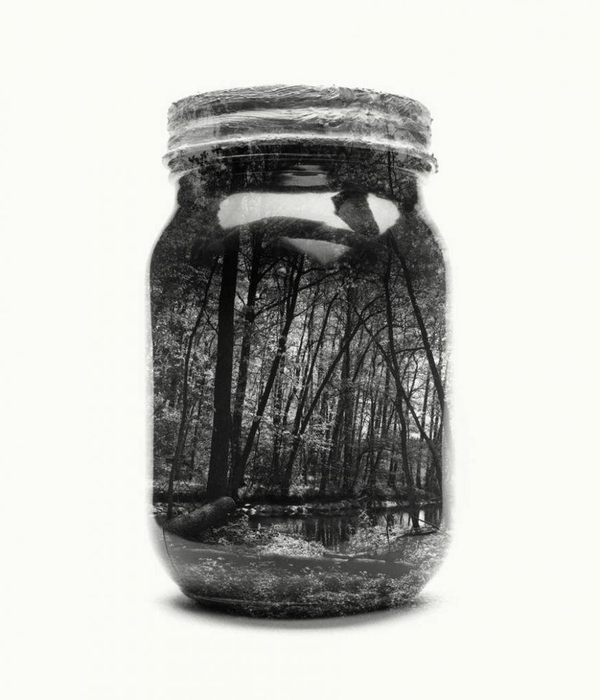 De wereld gevangen in een pot