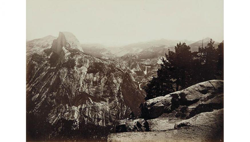 Carleton Watkins Glacier Point