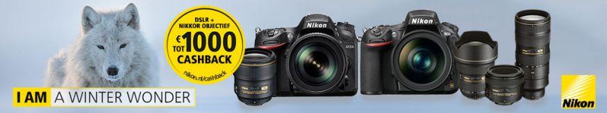 Nikon Cashbackactie