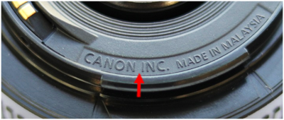 Echt Canon objectief