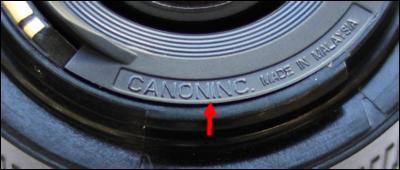 Namaak Canon